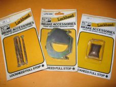 TALBOT ALPINE,HUNTER,MINX,VOUGE,RAPIER(67-79)FRONT BRAKE PAD FIXING KIT & shims